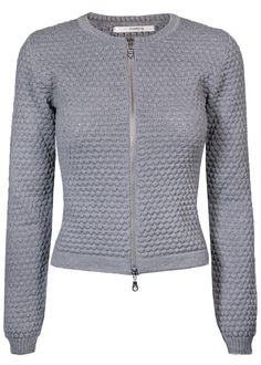 Cardigan grå SL1001 Ane Cardigan 9114 sweat grey