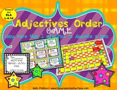 Ordering Adjectives Game