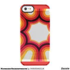 Иллюзия бесконечности clear iPhone SE/5/5s case