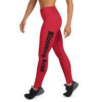 Yoga Leggings · Blooming Rose · Online Store Powered by Storenvy Rose Online, Blooming Rose, Spandex Material, Yoga Leggings, Slay, Hand Sewing, Store, Business, Fabric