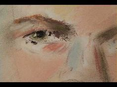 ▶ How to Paint Portraits wih Pastel.