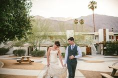 Palm Springs Wedding | Ace Hotel