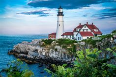 Maine Lighthouse by Richard Houghton on 500px