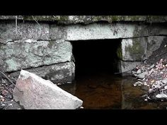 Underground GEOCACHE in freezing water! - YouTube