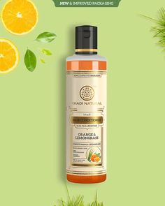 Revitalize and Moisturize your scalp & hair to give it a smooth, frizz-free and lustrous finish with Khadi Natural™ Herbal #Orange & #Lemongrass #HairConditioner. #Khadi #KhadiNatural #KhadiNaturalHealthCare #HairCare #HairCareRoutine #HairNourishment #Nourish #Hair #Conditioner #Essential #PerfectForHair #GoodHairDay #hairgoals Hair Cleanser, Moisturizer, Good Hair Day, Hair Care Routine, Hair Conditioner, Handmade Soaps, Lemon Grass, Body Care, Herbalism
