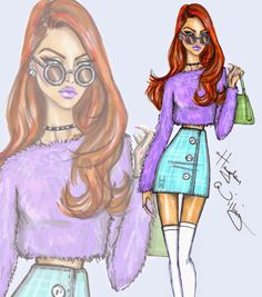 Hayden Williams Fashion Illustrations: 'Pastel Perfection' by Hayden Williams