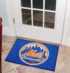 """MLB - New York Mets Starter Rug 19""""x30"""""""