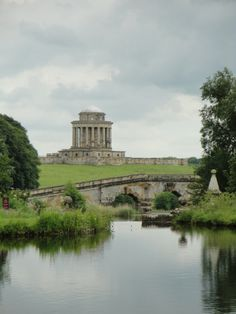 """Castle Howard, New River Bridge and Mausoleum"" by Nand de Rijk"