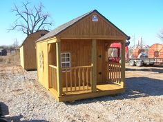 8 x 12 Playhouse - Stained