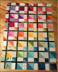 Sew Block Quilt Last year one of my quilty BFFs, Alyce aka Blossom Heart Quilts asked me if I'd like to design a quilt block for her Bee Hive project. Strip Quilts, Patch Quilt, Scrappy Quilts, Easy Quilts, Mini Quilts, Quilt Blocks, Bright Quilts, Small Quilts, Half Square Triangle Quilts