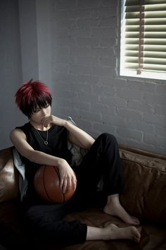 Kuroko no Basket (Cosplay) (Taiga Kagami) Cosplay Diy, Best Cosplay, Taiga Cosplay, Anime Cosplay, Kagami Taiga, Stud Muffin, Kuroko's Basketball, Amazing Cosplay, Kuroko No Basket