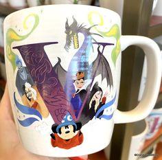 Disney Cups, Disney Food, Disney Parks, Mermaid Mugs, Mug Display, Cute Coffee Mugs, Cinderella Castle, Disney Dining, Disney Springs