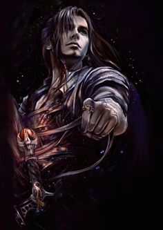 eternal 2 by ~kirasanta on deviantART - Is he on a horse? Looks like reigns in his hands. :)