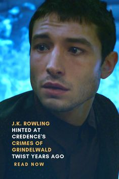 Rowling Hinted At Credence's Crimes Of Grindelwald Twist Years Ago Credence Fantastic Beasts, Fantastic Beasts Movie, Gellert Grindelwald, Crimes Of Grindelwald, Harry Potter Universal, Harry Potter World, Credence Barebone, Ezra Miller, Yer A Wizard Harry