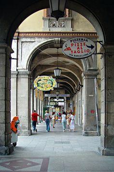 Portici di Via Roma - Cagliari -Sardinia - Italy