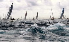 Volvo Ocean Race 2014 Start first stage Alicante
