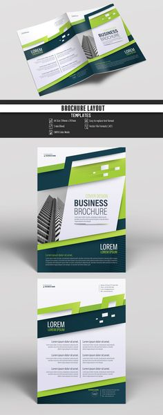 Brochure Cover Layout With Gray And Orange Accents 3 Image Adobe