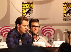Zachary Quinto and Chris Pine | Flickr - Photo Sharing!
