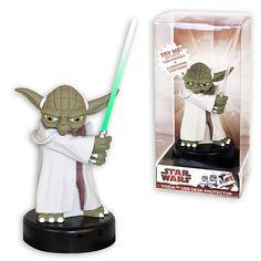 Cabezón Star Wars. Yoda, 14 cms. Con luz y sonido. Funko