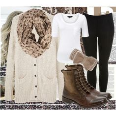 cute outfit...except the leggings =/