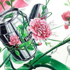 봄이니까 핑크핑크 꽃으로 포인트 이번달연구작하면서는 맘고생 몸고생.. 고생했어 혜인이 #토닥토닥#다시#힘…