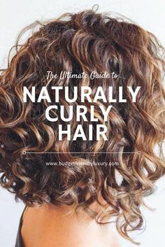 Guide to Naturally Curly Hair My guide to having perfectly curly hair every time. Learn my tips, tricks and the products that I swear by.My guide to having perfectly curly hair every time. Learn my tips, tricks and the products that I swear by. Haircuts For Curly Hair, Curly Hair Tips, Curly Hair Care, Curly Girl, Naturally Curly Hairstyles, Naturally Curly Bob, Medium Curly Haircuts, Caring For Curly Hair, Frizzy Curly Hair Products
