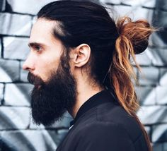 Love it or hate it, the man bun is one of the hottest hair trends right now! Let's take a look at some of the best man buns of all time... | All Things Hair - From hair experts at Unilever