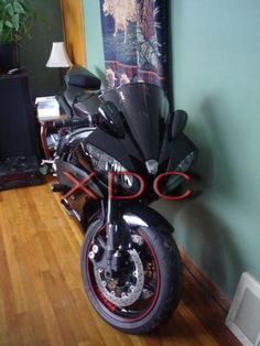 R6 black Pig Spotters Motorcycle Mirrors, Yamaha R6, Led Mirror, Triumph Motorcycles, Motorcycle Accessories, Sport Bikes, Honda, Black, Design