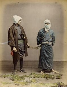 Prisoner, ca. 1860s by Kusakabe Kimbei