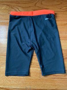 Nike Dri-Fit Hurley Biker Shorts Size M Neon orange waist band Super soft Nike Shorts, Hurley, Nike Dri Fit, Gym Men, Bermuda Shorts, Biker, Neon, Band, Orange