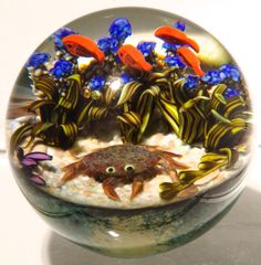 Art Glass by Cathy Richardson from Kela's.a glass gallery on Kauai Glass Marbles, Glass Beads, Jelly Flower, Glass Aquarium, Diy Resin Crafts, Blown Glass Art, Perfume, Glass Paperweights, Glass Blocks