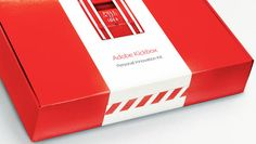 Adobe Kickbox: Inside this red box resides $1,000, a bar of chocolate, and the opportunity to take your company by storm.