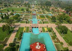 President of India : Rashtrapati : Mughal Garden