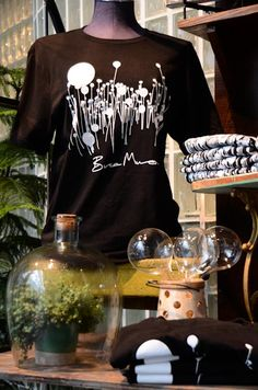 Bruce Munro themed merchandise available at Botanica Gift Shop & Greenhouse. T-shirts, note cards, and calendars will be available for the upcoming special engagement Bruce Munro: LIGHT at Franklin Park Conservatory and Botanical Gardens.