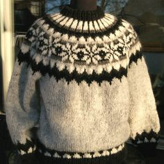 Icelandic Sweaters, Knitwear, Pullover, Wool, Colour, Style, Fashion, Nightgown, Threading