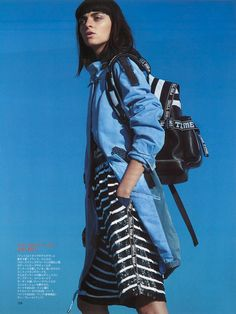 FAY for SPUR Japan Women's Spring - Summer 2015 collection.