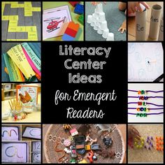 Ten Literacy Ideas for Emergent Readers - Education to the Core