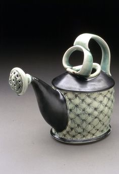 watering can tea pot by Lorna Meaden.