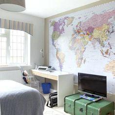 tween boys bedroom ideas teen boys room with map mural boys bedroom design ideas bedroom decorating ideas for bedroom