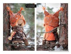 Авторские мягкие куклы Татьяны Коннэ
