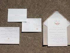Atlanta Custom Wedding Invitations at Paper Daisies Stationery