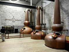 Copper stills at Woodford Reserve