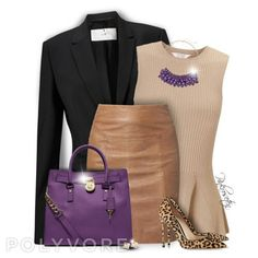 Touch of Purple for Fall! Shop it now