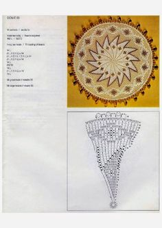 Doilies (Kenneth Moir) Afrikaans & English Crochet Doily Patterns, Crochet Doilies, Hot Pads, Lace Knitting, Plastic Canvas, Vintage Inspired, Projects To Try, Tapestry, Beads
