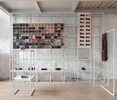 Poszetka retail stand by Joanna Kubieniec » Retail Design Blog