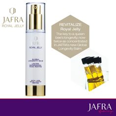 JAFRA's Global Longevity Balm now has more of the Royal Jelly you love! http://jafra.me/rvv