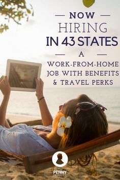 Love cruises? Want to work in your PJs? This work-from-home travel agent job is available in 43 states -- and the company is hiring now! @thepennyhoarder