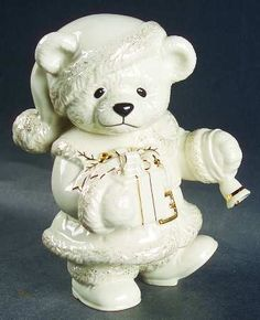 Lenox china Christmas Teddy Bear