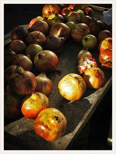 Granatapfel, Pomegranate - Markt Rethymno