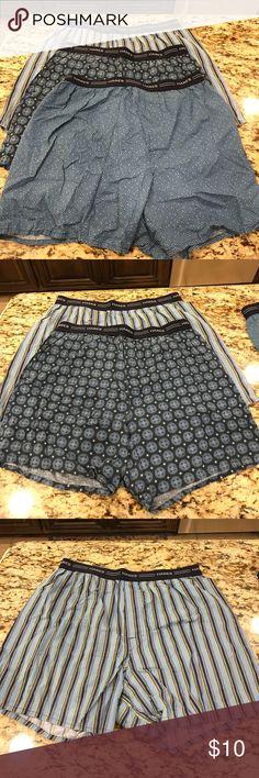 NWOT Men's Hanes Boxers-3 pair Beautiful patterns Hanes Underwear & Socks Boxers